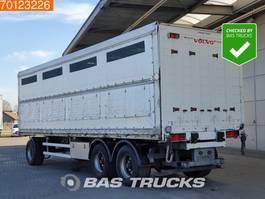 livestock trailer Schmitz Cargobull Liftachse 2008