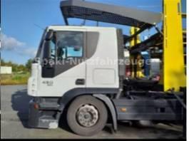 car transporter truck Iveco STRALIS 450 E5coupling syst. EUROLOHR INTERFA