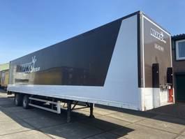 closed box semi trailer Groenewegen DRO-12-20 | 2 BPW Axle Koffer | APK 2001
