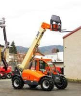 rigid telehandler JLG 3507 4x4x4 - 7 m, 3.4 t. vgl. CAT TH 337 2003