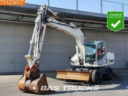 wheeled excavator Atlas 1805 Outrigger - blade - bucket 2003