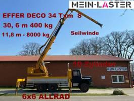 crane truck 256 D 26 AK 6x6 EFFER DECO 34  31 Meter 400 kg