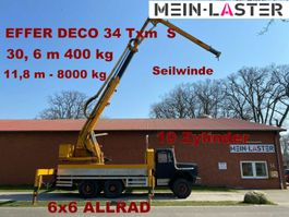 Kranwagen 256 D 26 AK 6x6 EFFER DECO 34  31 Meter 400 kg