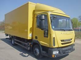closed box truck > 7.5 t Iveco EuroCargo ML 75 E 16 P  HLB Koffer 5,40x2,5 2012