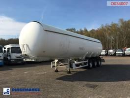 Tankauflieger Auflieger Guhur Gas tank steel 49 m3 1997