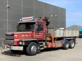 crane truck Scania T112H 6x2 1985