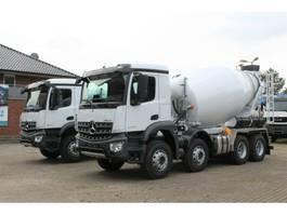 concrete mixer truck Mercedes Benz 3540 8x4 / EuromixMTP 9SL 2020