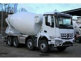 concrete mixer truck Mercedes Benz 4142 8x4 / EuromixMTP  EM 10m R 2020