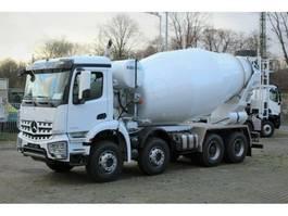 concrete mixer truck Mercedes Benz 4142 8x4 / EuromixMTP  EM 12m R 2020