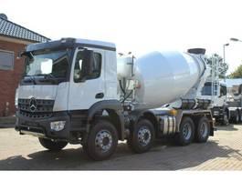 concrete mixer truck Mercedes Benz 3540 8x4 / EuromixMTP EM 10 L 2020
