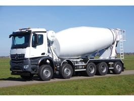 concrete mixer truck Mercedes Benz Arocs 10x4 49-ton naloop as Mulder 15 m3 beton mixer 2020