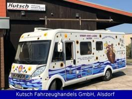 integraded camper Hymer B694 Behindertengerecht Paravano Umbau