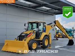 backhoe loader Caterpillar 428F2 LIKE NEW - LOW HOURS - GOOD CONDITION 2018