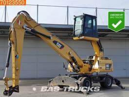 material handler Caterpillar M318 D MH German dealer machine 2013