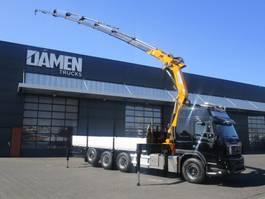 crane truck Volvo FMX 500 8x4 Tridem EFFER 385/8S 2012
