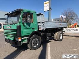tipper truck > 7.5 t Scania 113 380 Full Steel - Mech pump - 6 cylinder 1992