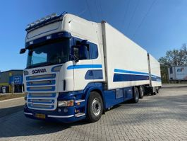 refrigerated truck Scania R 500 6X2 EUR5 MANUAL GEARBOX RETARDER COMPLETE WITH TRAILER 2007
