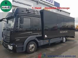 car transporter truck Mercedes-Benz 823 Mersch Geschlossener Autotransporter Euro 6 2013