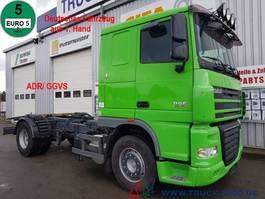chassis cab truck DAF XF105.460 Deutscher LKW 1. Hand ADR/ GGVS AHK50t 2010