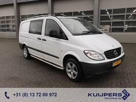 closed lcv Mercedes Benz Vito 109 CDI // Dubbel Cabine  // Trekhaak // Cruise Controle // APK TÜV 2007