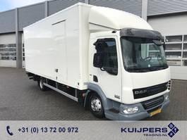 closed box truck > 7.5 t DAF FA LF 45.160 / Box / Loadlift / MANUAL 2012
