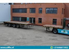 flatbed semi trailer ES-GE Vlakke uitschuifbare oplegger // Naloop gestuurd 2005