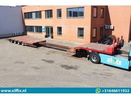 semi lowloader semi trailer Nooteboom 4-ass. Uitschuifbare semi dieplader 2009