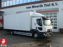 closed box truck Renault D 250.12  EURO 6  32-BNT-5 2016