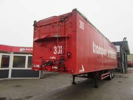 walking floor semi trailer Stas S/00032 90M3 ZELFLOSSER 2001