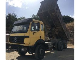 tipper truck > 7.5 t Mercedes Benz 2435 6X4 Big Axles 1992