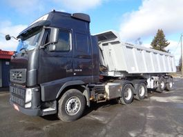 cab over engine Volvo FH-13 6x4 3200 + Meiller 2012
