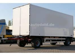 closed box trailer spier Spier Luftgefedert Koffer Durchladesystem LBW 2010