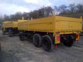 container chassis semi trailer Schmitz Cargobull tri axle 15 ton drop side container Trailer Ex military 1990
