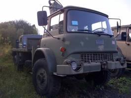 army truck Bedford Bedford MJ 4x4 Crane Hiab truck Ex army 1987