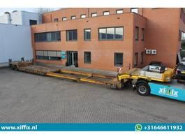 lowloader semi trailer Broshuis 2-ass. Dubbel (2x) uitschuifbare dieplader met afneembare nek 2008