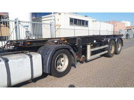 container chassis semi trailer Pacton 20 ft. chassis 1990