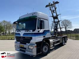 container truck Mercedes Benz ACTROS 2546 LENA 6x2 kabelsysteem (3 pedalen) 2008