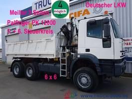 tipper truck > 7.5 t Iveco MP 260E38 6x6 Meiller Palfinger PK12000 Sitzhzg. 2005