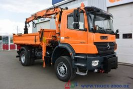 tipper truck > 7.5 t Mercedes-Benz Axor 1829 4x4 Atlas Kran + Winterdienst 1.Hand 2009