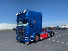 cab over engine Scania R520, Retarder,Hydrauliek, LIKE NEW 2014