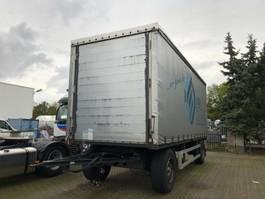 sliding curtain trailer Kögel ANZO 18 Edscha, Schiebeplane, Portal Tür