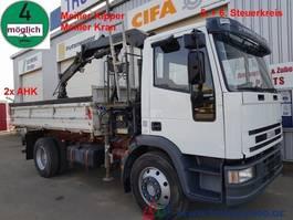 tipper truck > 7.5 t Iveco 120E18 3S. Meiller Kran 4m=1.8t 5.+6.Steuerkreis 2000