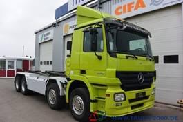swap body truck Mercedes-Benz Actros 3246 8x4 Multilift Knick-Schub Haken 25 t 2008
