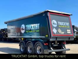 tipper semi trailer Meierling Alu 31 m³, leer 4,7 to, PU-Auskleidung, MIETEN ? 2018
