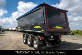 tipper semi trailer Meierling Alu 31 m³, leer 4,7 to, PU-Auskleidung, MIETEN ? 2019