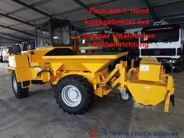 paving machine Paus AKD 202 4x4 3-Seitenkipper/ Dumper*Kehrbesen 2000