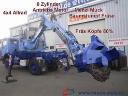 paving machine 1831 4x4 Menzi Muck Baumstumpf- Wurzelfräse 1995