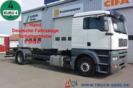 swap body truck MAN TGA 18.360 BDF 1.Hd 5 Sitze Fahrschule Schalter 2008