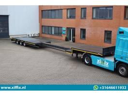 semi lowloader semi trailer Lintrailers 3-ass. Uitschuifbare semi dieplader 2020