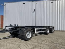 container chassis trailer Van Hool 3-assige 3 asser  van Hool container aanhanger NEW APK 2007